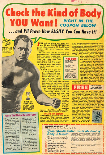 Vintage Ad #2,187: Check the Kind of Body YOU Want!