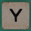 Spill and Spell Dice Letter Y