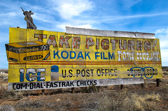Film Billboard, Houck AZ photo by AzFlyer74