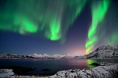 Northern lights last night photo by John A.Hemmingsen
