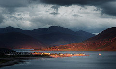 Sunset Over Ullapool photo by Philipp Klinger Photography