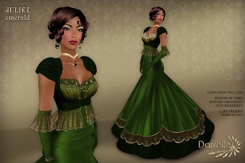 DANIELLE Juliet Emerald