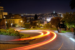 Lombard Street - San Francisco photo by PsychaSec