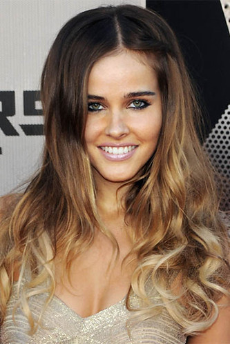 Ombre Brown Hair with Blonde Tips