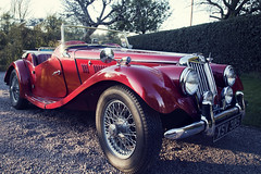 Classic Car MG photo by Stephanie Beagley