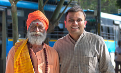 The Sadhu & I - Happy Birthday photo! photo by Kartik J