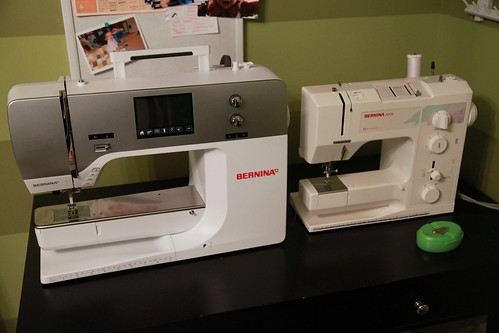 new Bernina 750 QE