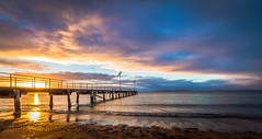 Sunrise, North Shields Jetty South Australia photo by Jacqui Barker Photography