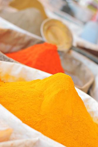 Spices, Skoura - Morocco