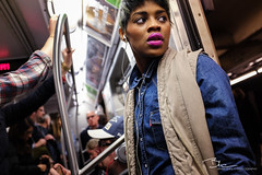 On the F Train photo by BrianEden