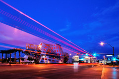 Cleveland Clinic's Lou Ruvo Center  - LIGHT TRAIL - photo by Parallel.....