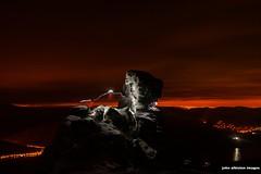cobbler central summit climbers' light-trails photo by john&mairi