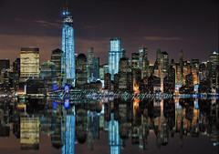 Lower Manhattan Pano photo by Jason Pierce Photography