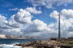Obelisco Millenium. ( A Coruña). photo by Emilio Rodríguez Álvarez