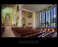 St Mary's Cathedral, Perth, Western Australia :: HDR photo by :: Artie | Photography ::