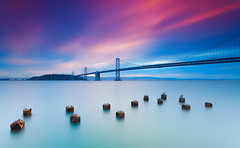 Beautiful morning | Bay Bridge, San Francisco photo by Taha Elraaid