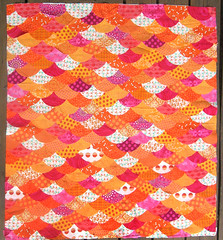 Fish Scale Baby Quilt, Go Baby Circle die photo by cybperry