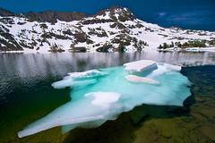 Sierra Iceberg, Winnemucca Lake, Mokelumne Wilderness photo by SteveD.