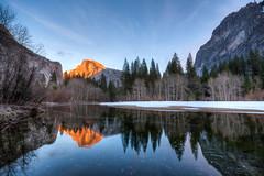Yosemite - Half Dome Sunset photo by SpreadTheMagic