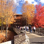 10/19/16 The Flume Gorge is open through Sunday and still looking spectacular!
