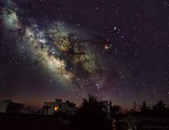 Milky Way rising!! photo by AdityaGopal27
