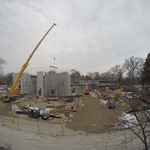Construction site as of January 31, 2015.