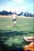 Me running down Parliament HIll Fields, 1978
