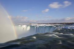 Niagara Falls and Rainbow photo by hey its k