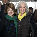 Director's Society member Ann Mann and Trustee Susan Belgrad. Photo by Robert Carl.