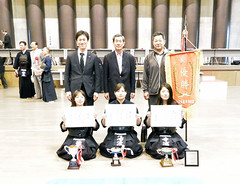 The 18th All Japan Women's Corporations and Companies KENDO Tournament & All Japan Senior KENDO Tournament_047