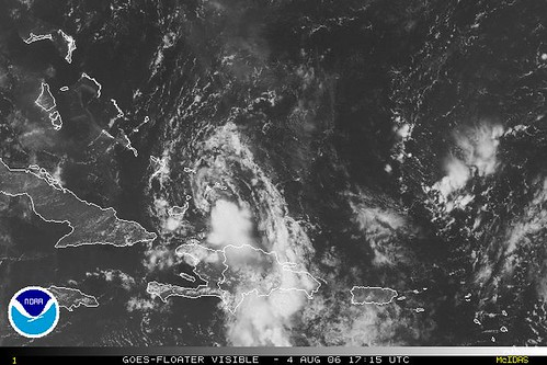 tropical depression chris
