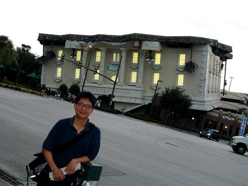 Self with upsidedown building