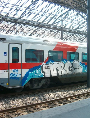 HPIM13726. Train graffiti.
