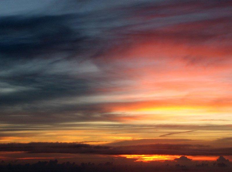 Fuji: wschód słońca