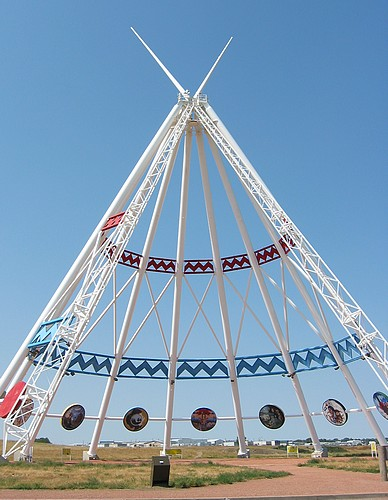 16 worlds largest teepee