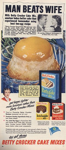 Betty Crocker Ad, 1951