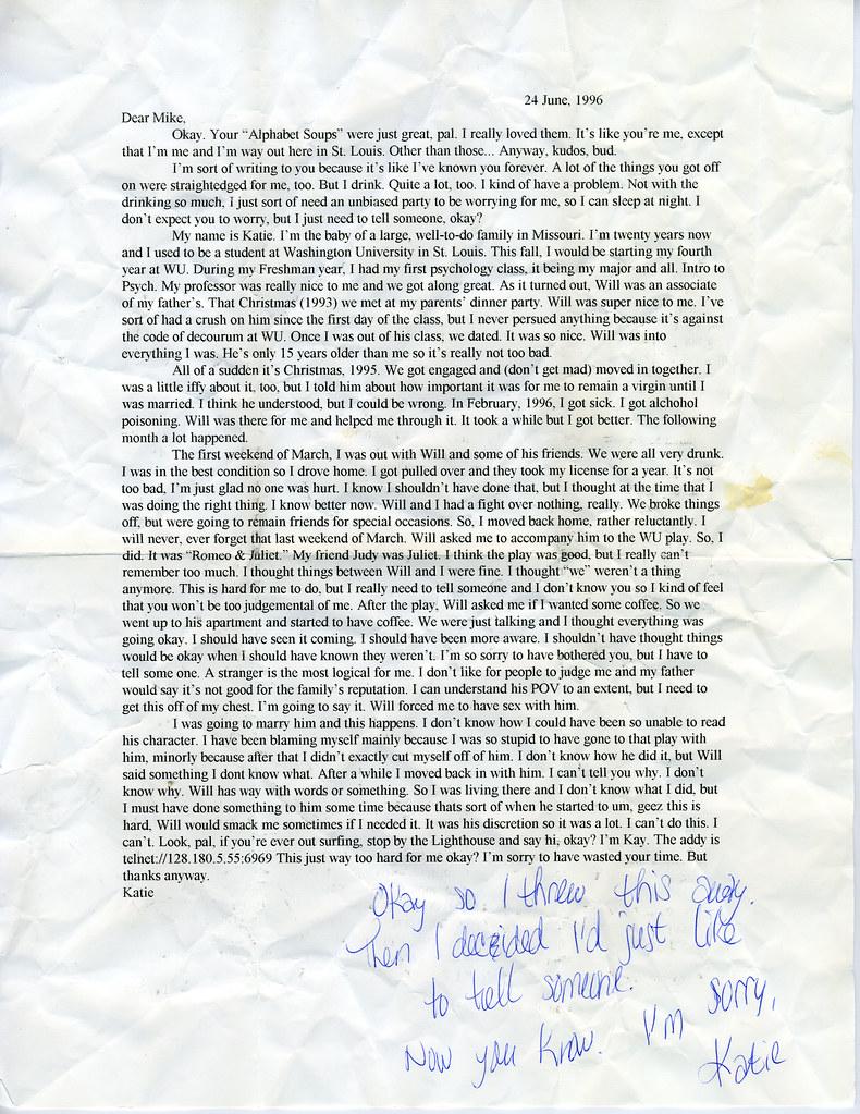 Strange Letter