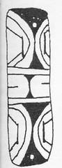 Fig 1.- Pendiente de concha del sitio Toma de Agua