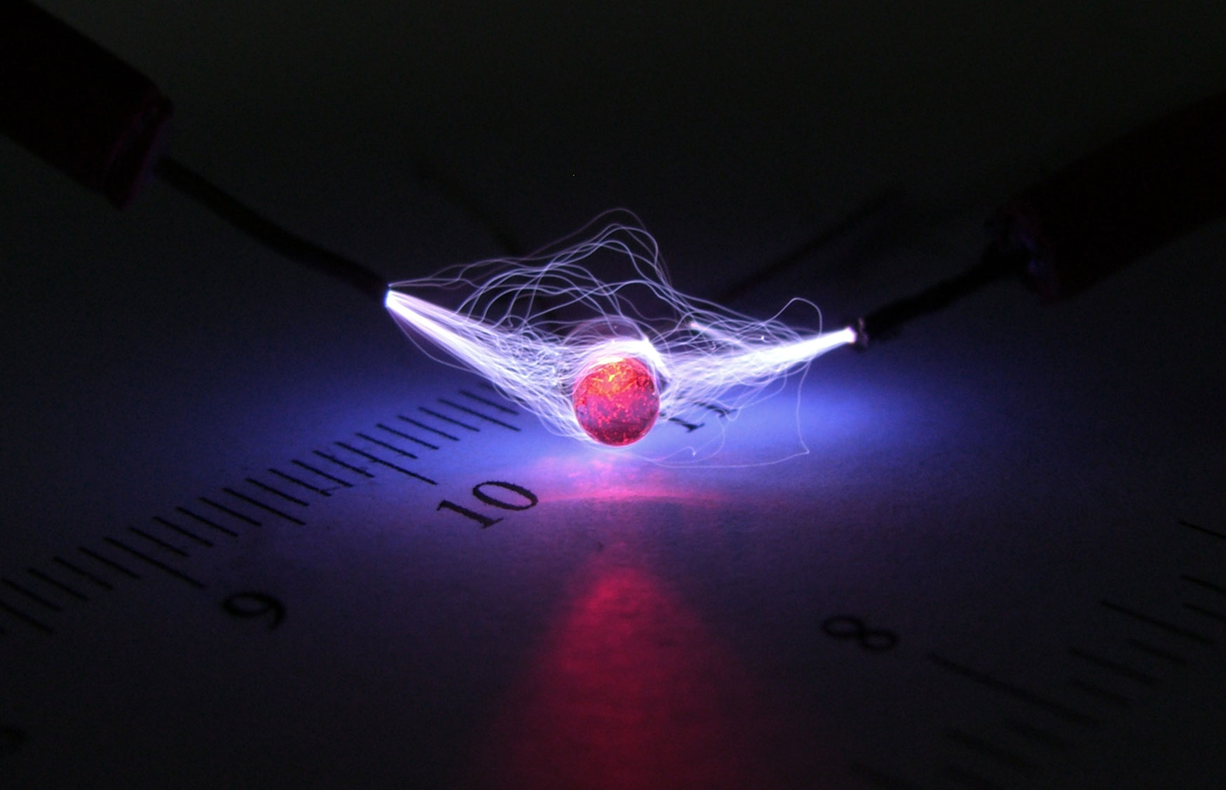 Foto de Alto Voltaje encontrada en el grupo de física