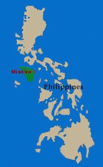 Puerto Galera在Midoro島的最北邊,Anilao就在馬尼拉本島的最南端,兩者隔著一道海峽