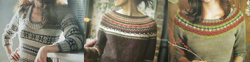 colourwork sweaters