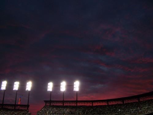 Detroit Tigers Sunset
