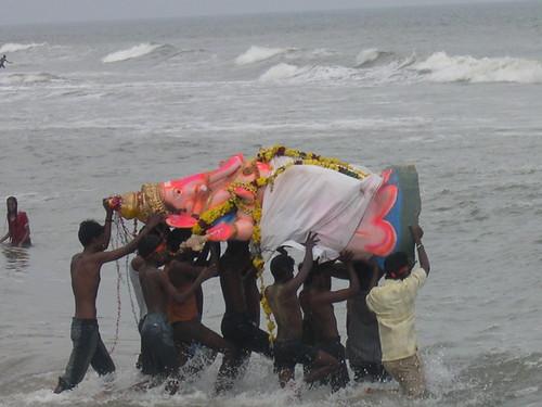 Ganapathy Immersion at Chennai