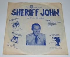 1950's Sheriff John record