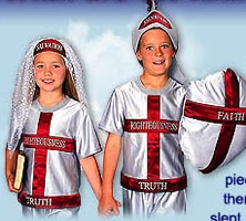 armor of god pajamas