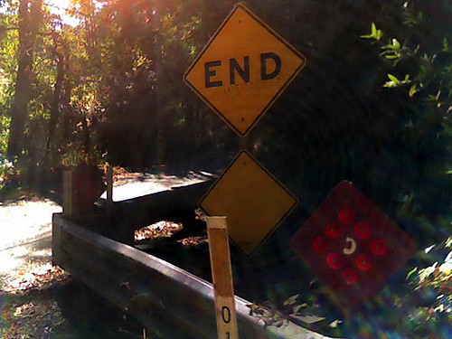 End of Sanborn road