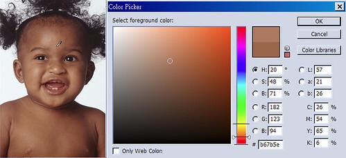 膚色樣片3統計