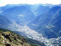 Andorra la Vella desde Pic Carroi (2335 mt)