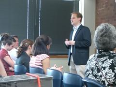 Rob Lucas (Teach Forward) at CTC VISTA PSO