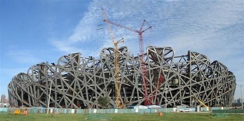 estadio olimpico pekin obras